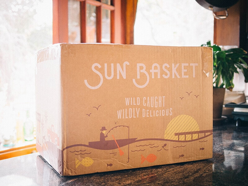 Weekly Sun Basket box