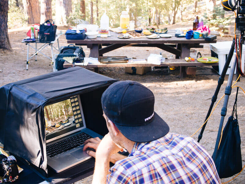 Shooting The New Camp Cookbook in Idyllwild