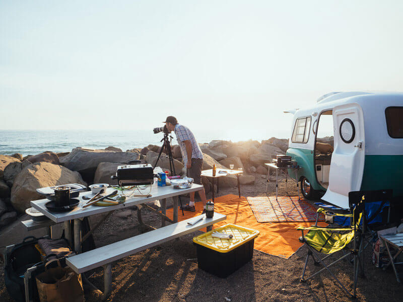 Shooting The New Camp Cookbook on the Ventura coast