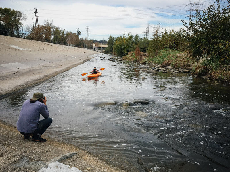 Kayaking the Los Angeles River