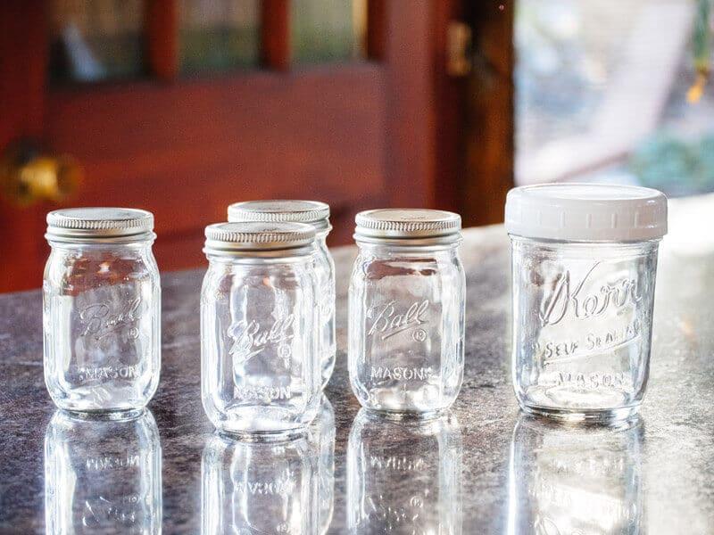 New mini jars from Ball