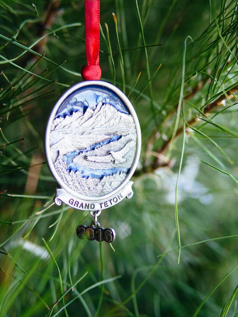 Teton National Park ornament