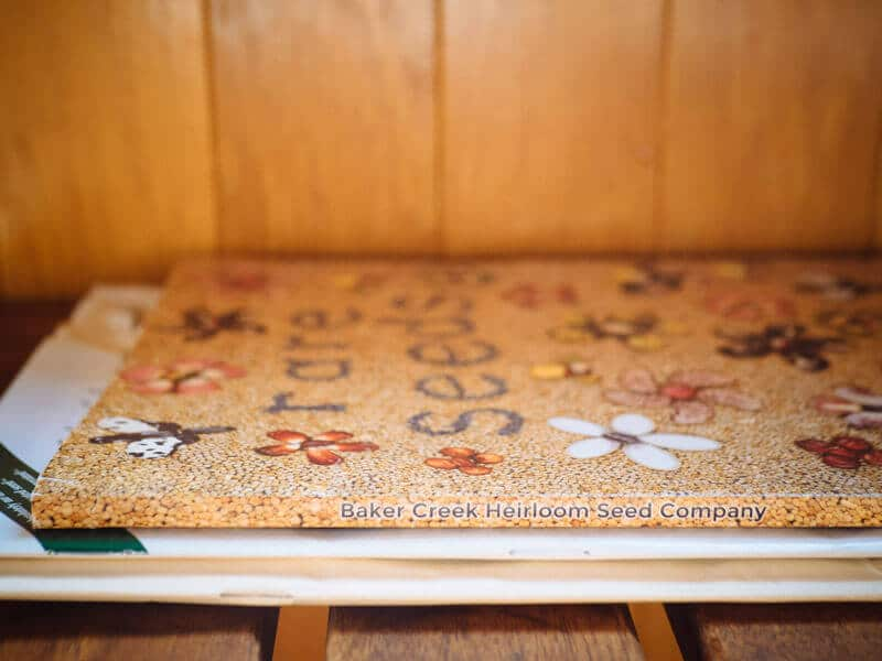 Seasonal seed catalogs