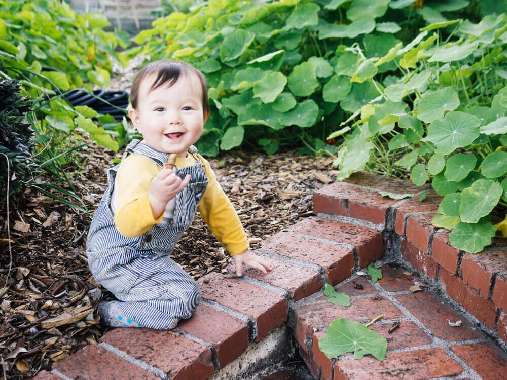 My little garden helper