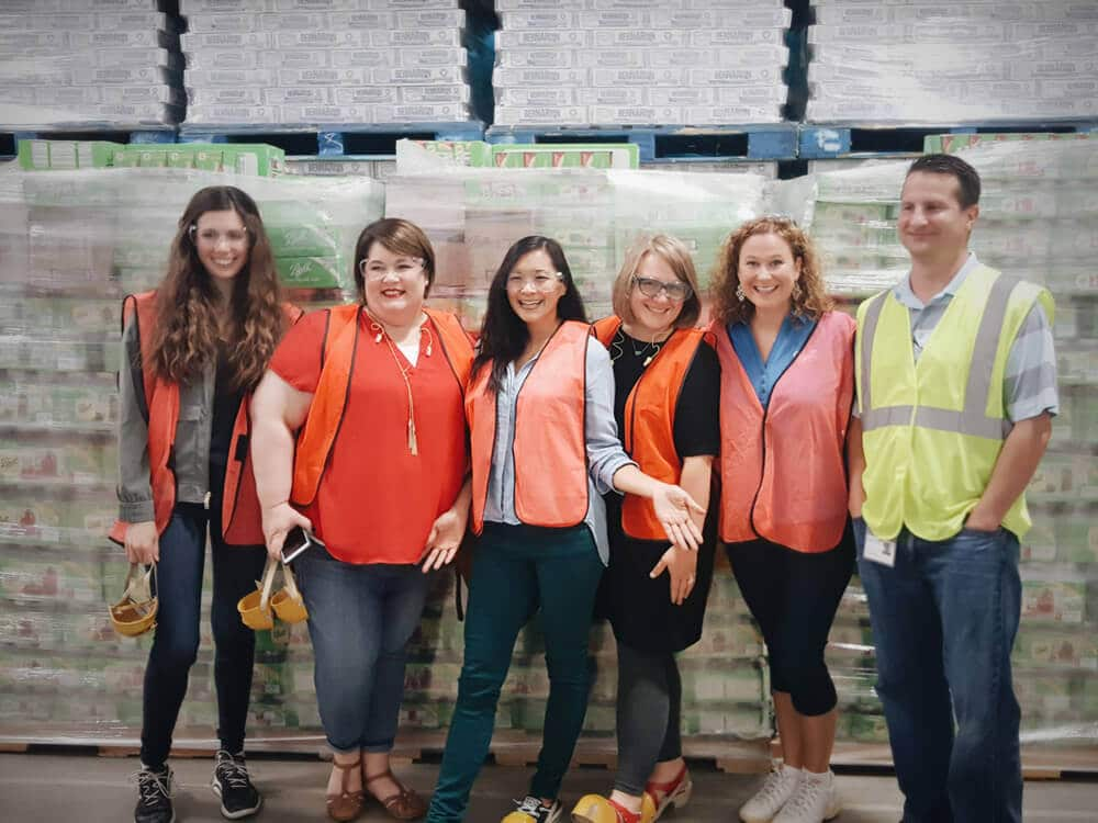 Blogger immersion trip at Ball Canning headquarters