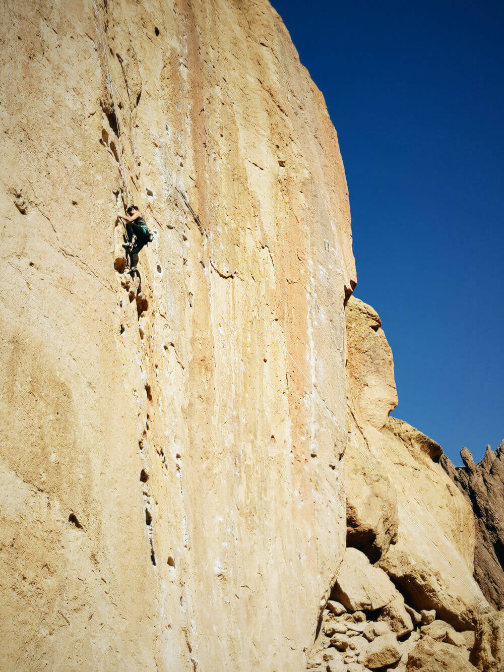Moving on up... literally! (Climbing in Smith Rock, Oregon)