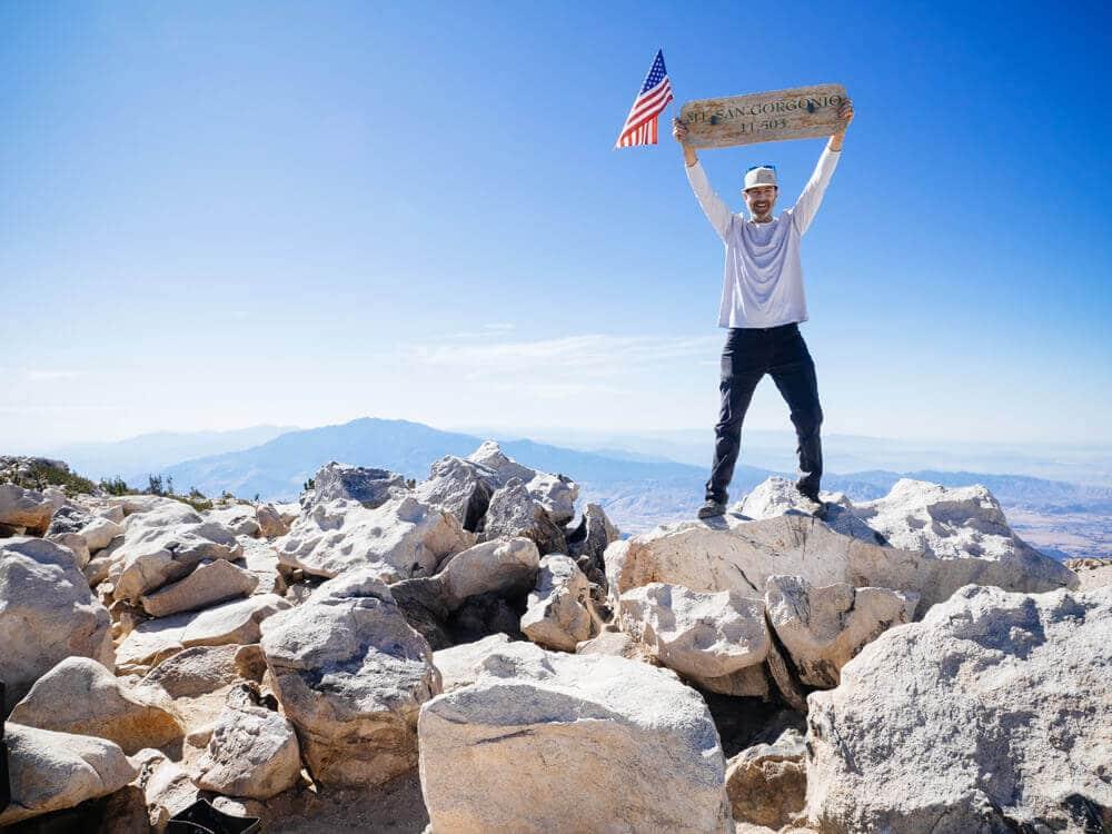 Summiting Mount San Gorgonio