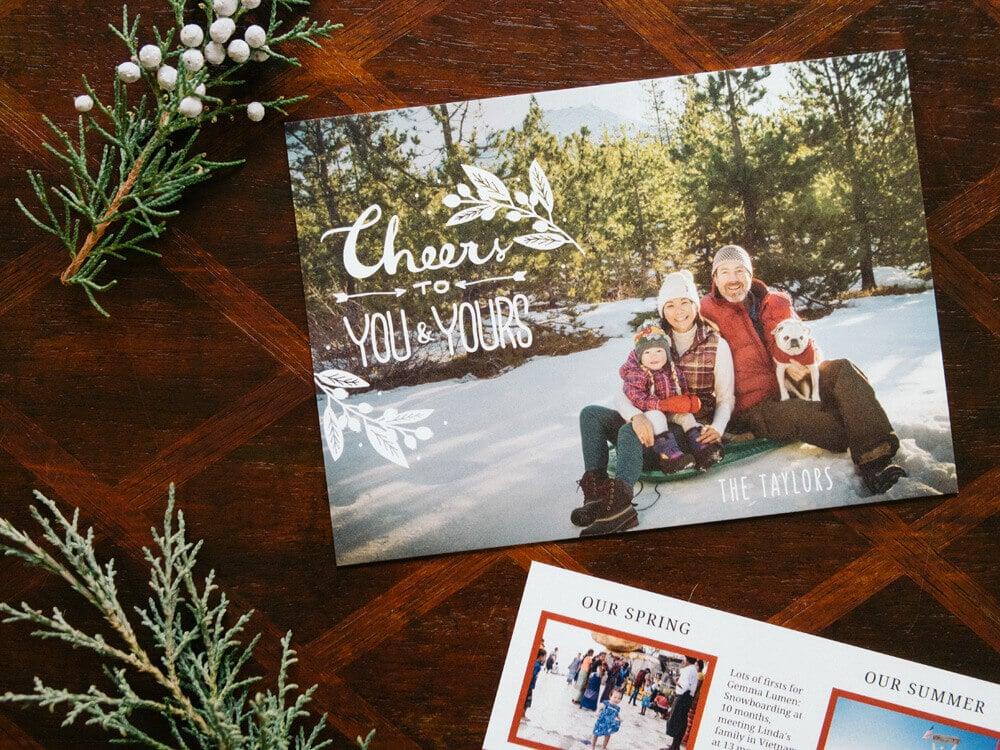 Family Christmas cards