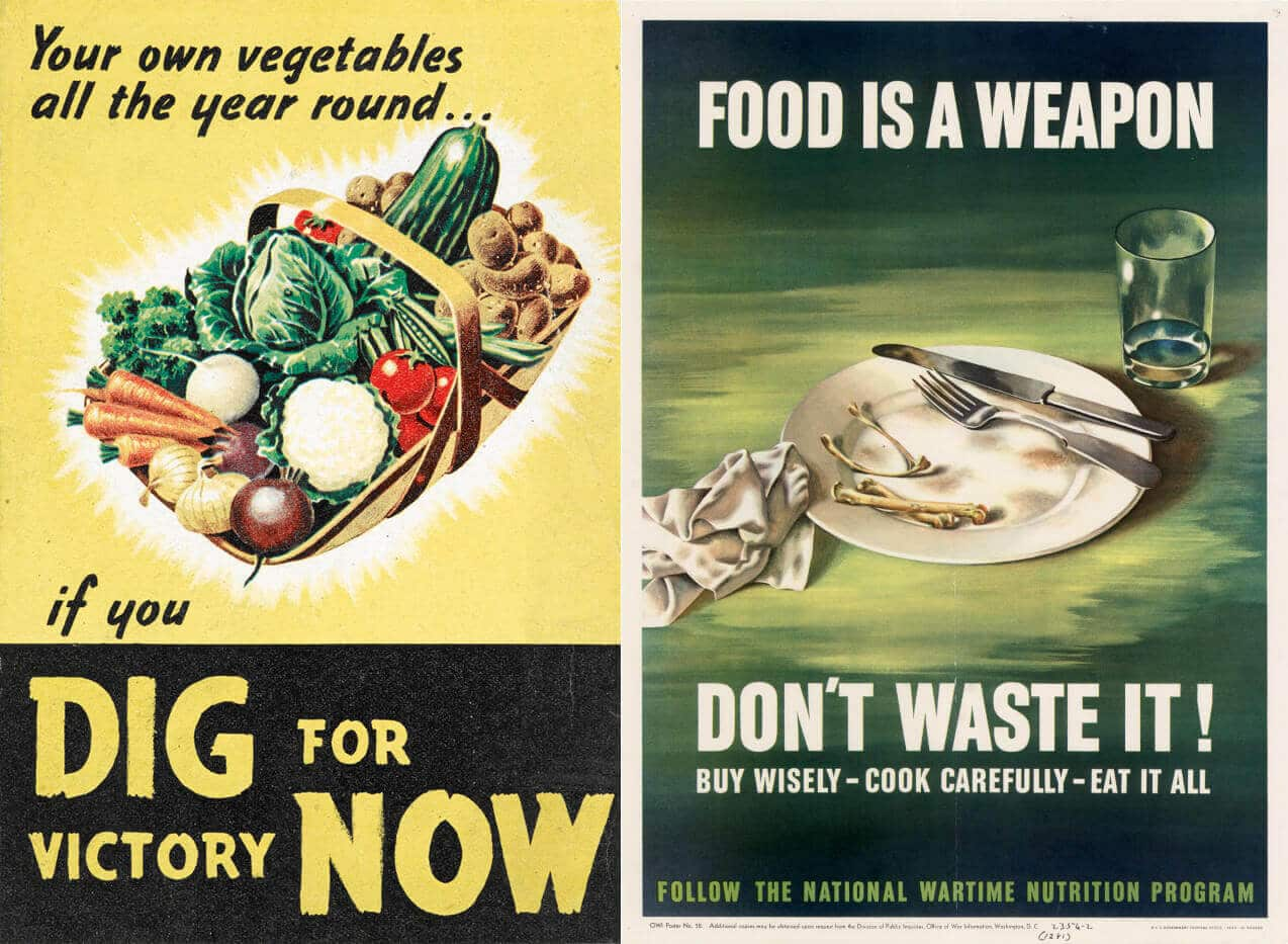 British wartime propaganda inspired the victory garden movement
