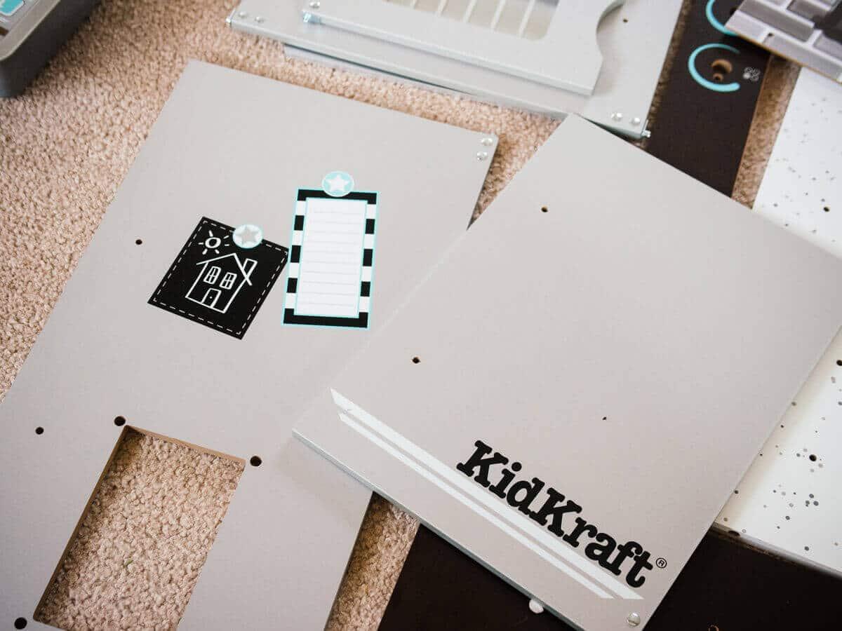 """Remodeling"" a generic KidKraft play kitchen"