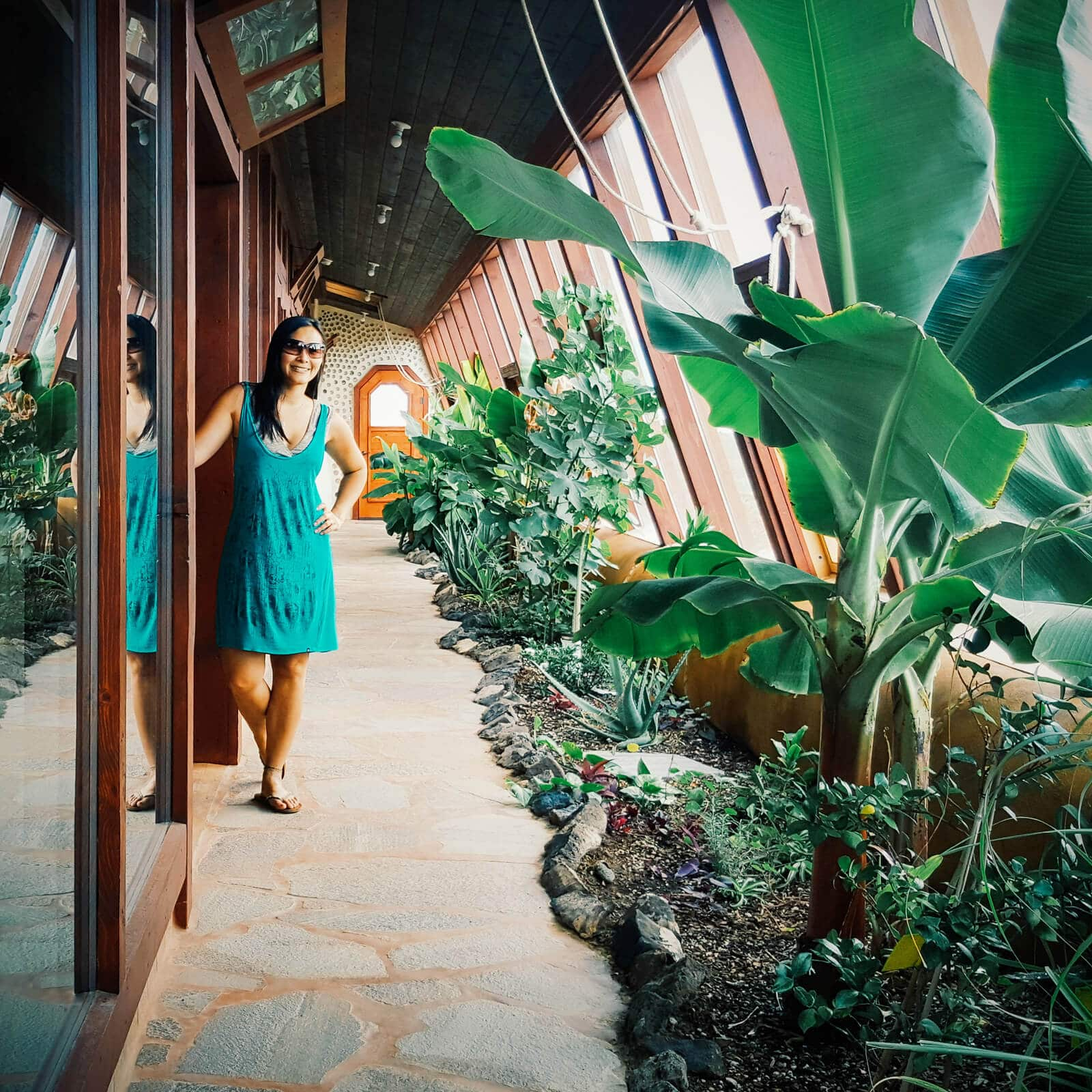 I stayed in an Earthship: eco living in the high desert