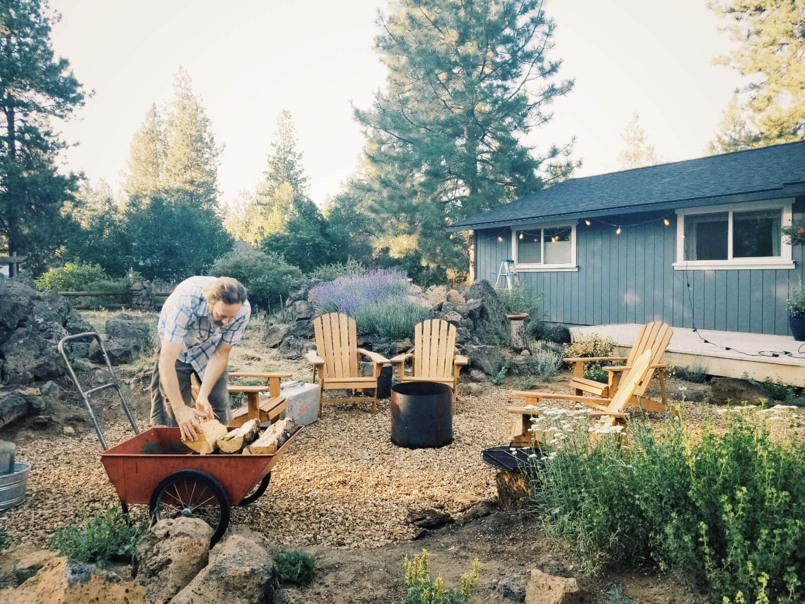 Styling the cover shot for The Backyard Fire Cookbook