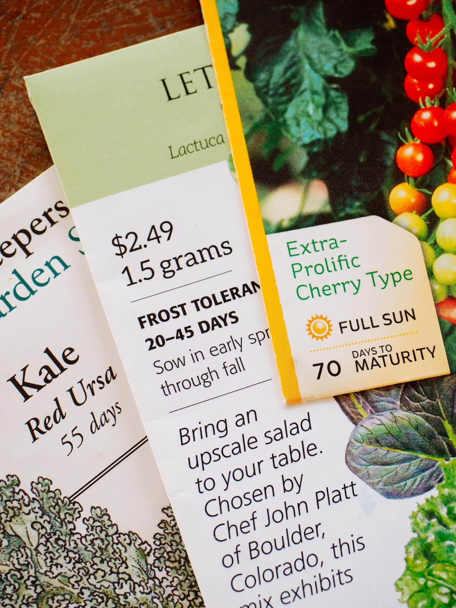 How to use days to maturity on a seed packet to help you be a better gardener