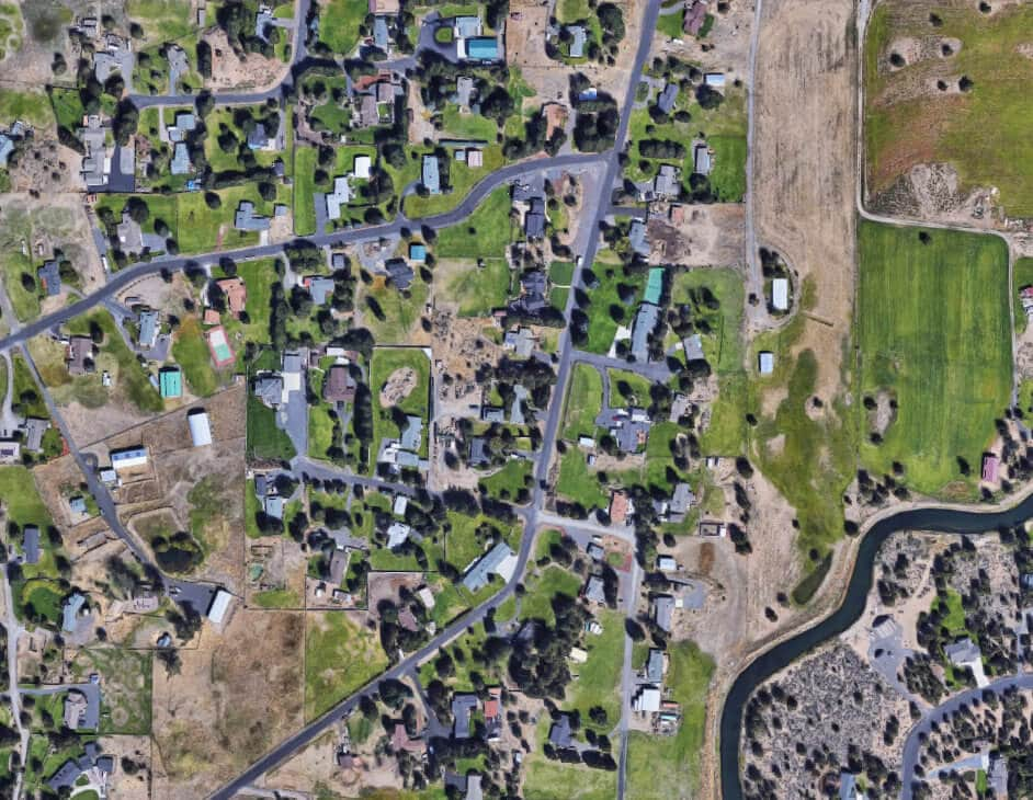 Comb through Googlee Earth to find potential empty lots to build on