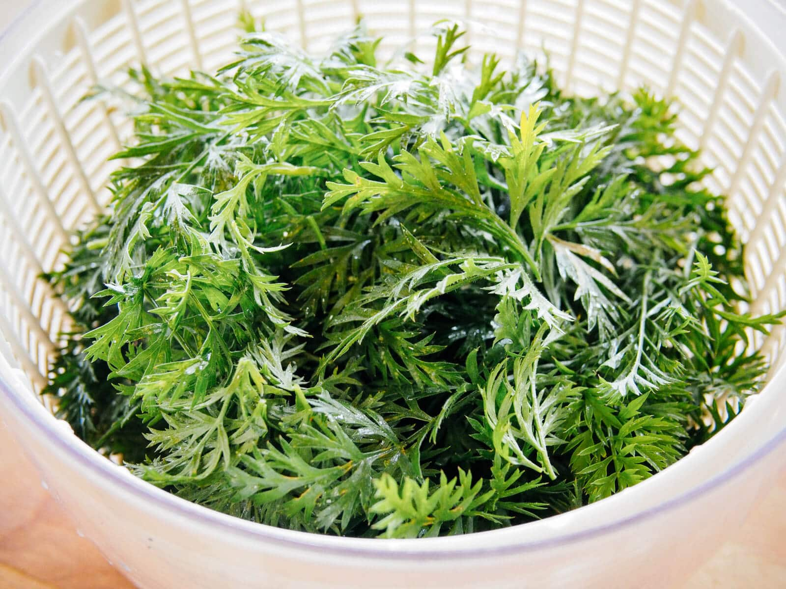 Use carrot greens in your recipes