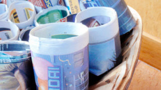 How to make recycled newspaper pots for seed starting