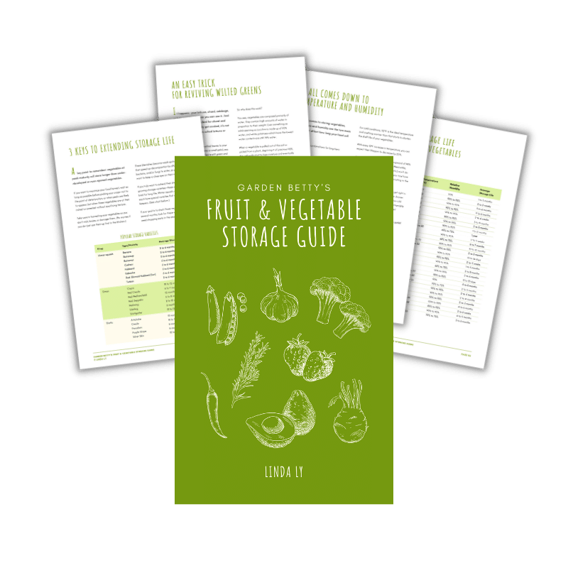 Fruit and vegetable storage guide PDF download